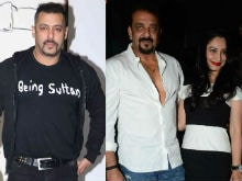 Maanyata Trying to Patch up Things Between Sanjay Dutt and Salman Khan