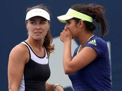 सानिया मिर्जा और मार्टिना हिंगिस डब्ल्यूटीए फाइनल्स के सेमीफाइनल में हारीं