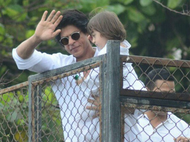 From Shah Rukh Khan and AbRam, the Best Possible Eid Mubarak