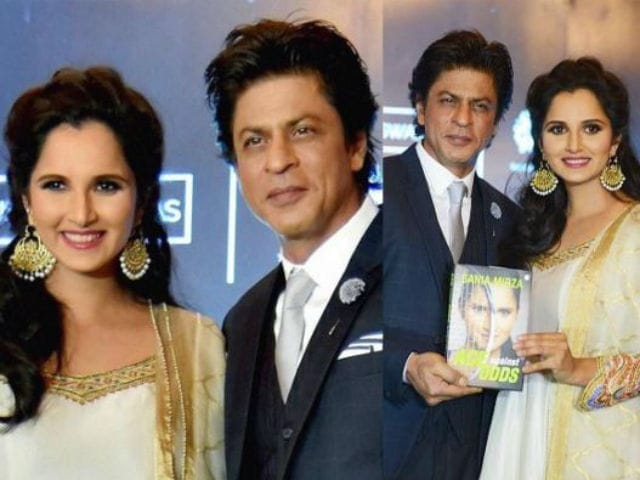 Shah Rukh Khan Would Like to Produce Biopic on Sania Mirza
