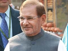 Opposition Parties Not Sure If Sharad Yadav's Views Reflect JDU's