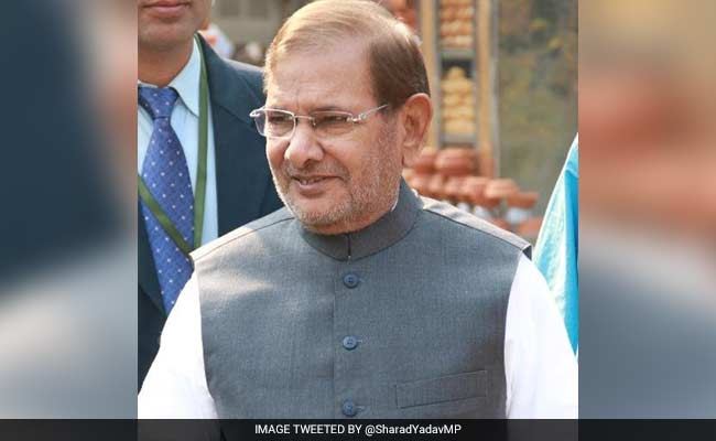 Sharad Yadav Says Consensus On President Possible, But There Is A Rider