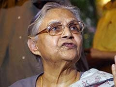 """Criminals Having Free Run"": Sheila Dikshit Writes To Delhi Governor"