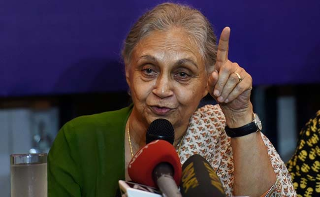 AAP Lied, Took Credit For Congress's Work In Delhi: Sheila Dikshit