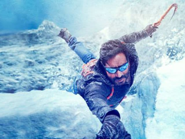 Ajay Devgn Tweets Cliffhanger Poster, #BeShivaay Trends Soon After