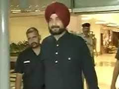 Navjot Singh Sidhu Lands In Delhi At Dawn, Silent Even After 'Maun Vrat' Ends