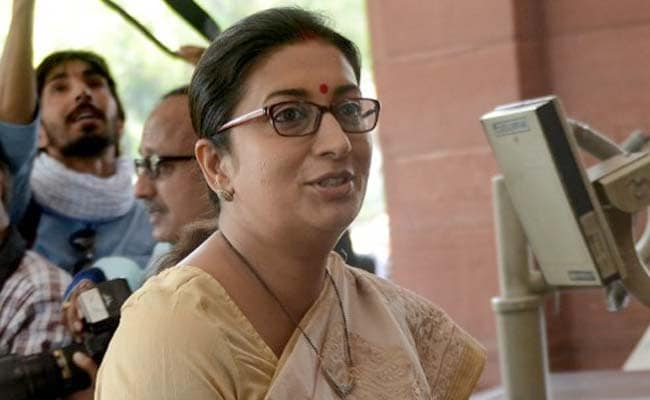 No Prizes For Guessing Who Was Inspired By Hitler: Smriti Irani To Rahul Gandhi