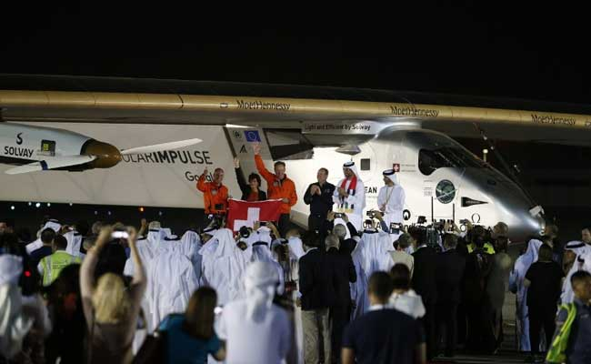 Solar Plane Ends Historic Round-The-World Trip