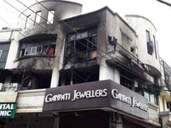 Fire At Building Of AAP Leader Somnath Bharti's Residence In Delhi