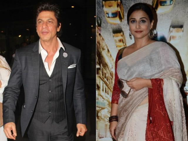 Shah Rukh Khan to Clash With Vidya Balan. Here's the Full Kahaani