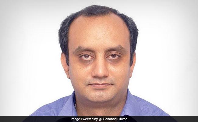 अरुण जेटली की सीट से निर्विरोध निर्वाचित होकर राज्यसभा पहुंचे BJP प्रवक्ता सुधांशु त्रिवेदी