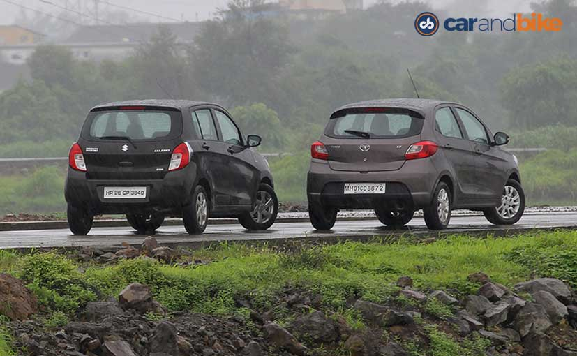 Tata Tiago vs Maruti Celerio Comparison Review