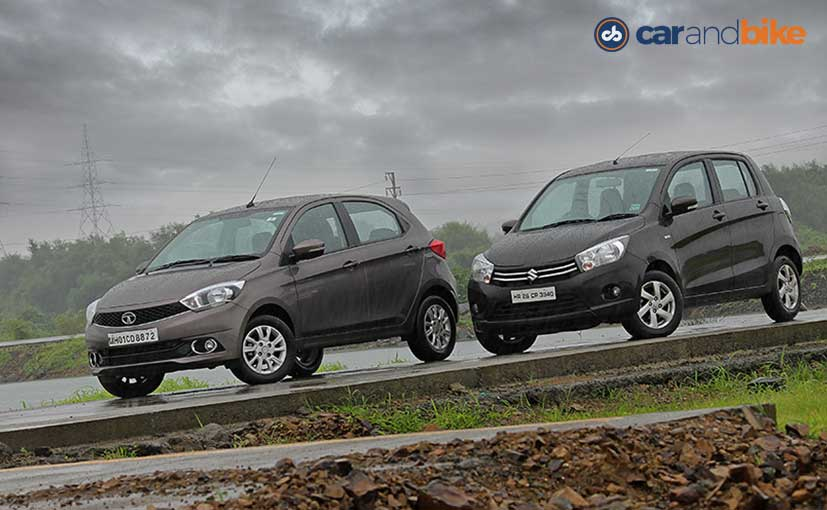 Comparison Review: Tata Tiago vs Maruti Suzuki Celerio Diesel