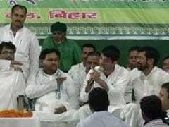 Lalu Yadav's Rescue Act As Minister Son Tej Pratap Rows With Journalists