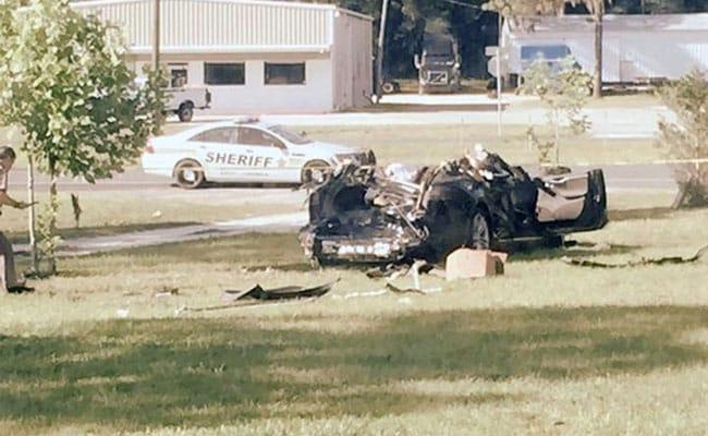 DVD Player Found In Tesla Car In Fatal Crash In Florida