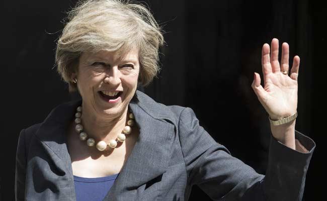 Amid Nuclear Spat, Britain's Theresa May Says Wants Strong China Ties