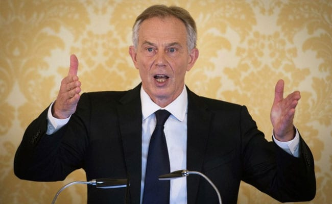 Former British PM Tony Blair Announces Return To Politics To Fight Brexit