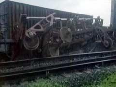 छत्तीसगढ़ के रायपुर में मालगाड़ी के 14 डिब्बे पटरी से उतरे, कोई हताहत नहीं