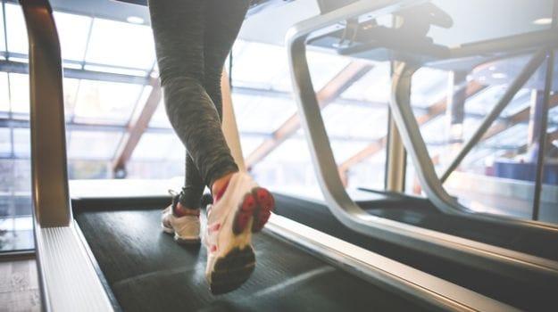 treadmil jogging