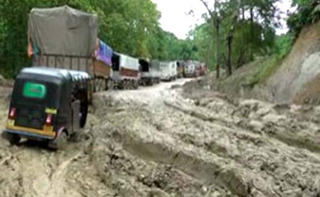 4,500 Trucks Stranded On Tripura's Lifeline, Petrol Touches Rs 250 A Ltr