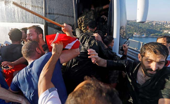 Turkey Suspends More Than 12,000 Police Officers In Coup Probe ...