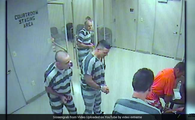 Watch: Inmates Break Out Of Jail To Save Guard's Life