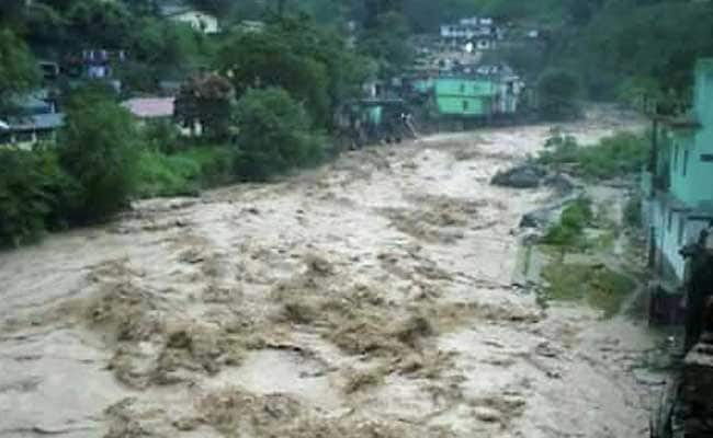 2 Dead, 3 Trapped After Cloud Burst In Uttarakhand's Chamoli