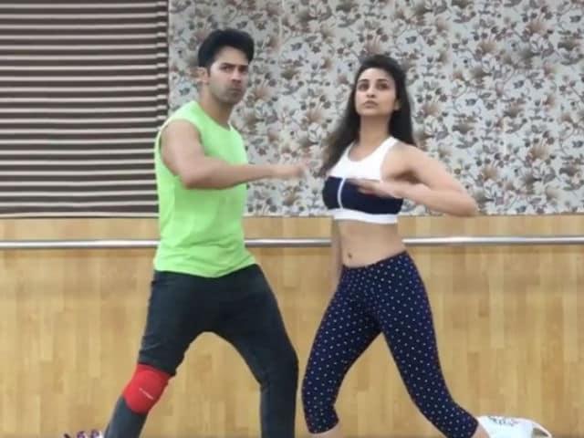 Watch Parineeti, Varun Rehearse For Jaaneman Aah in This Video