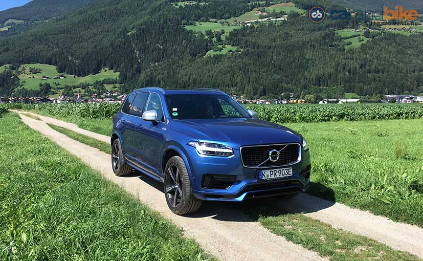 Volvo XC90 T8 Twin Engine Gets a 9.2 kWh Lithium-ion Battery