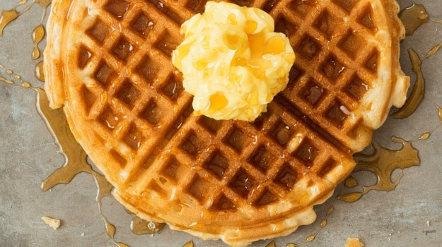 Watch: Prepare This Keto Waffle For A Quick & Delicious Breakfast At Home (Recipe Video Inside)