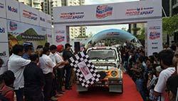 Maruti Suzuki Flags Off 2016 Dakshin Dare Rally In Bengaluru