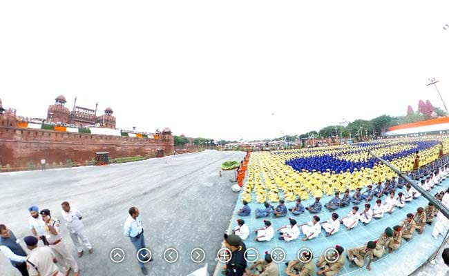 360-degree view of Red Fort, venue of PM Modi's speech