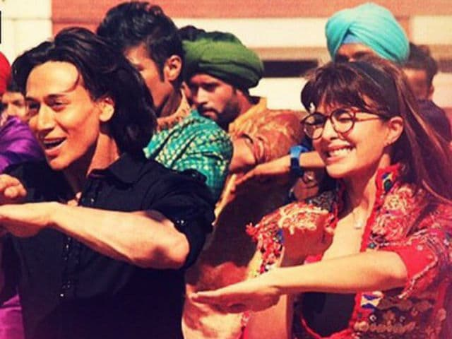 Tiger Shroff Does Bhangda With a Twist in New Flying Jatt Song