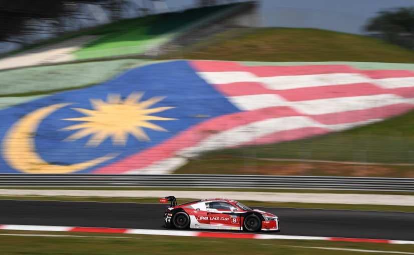 Aditya Patel Audi R8 LMS Cup Asia Sepang