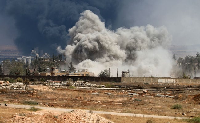 Russia To Halt Strikes On Syria's Aleppo For 8 Hours On Thursday