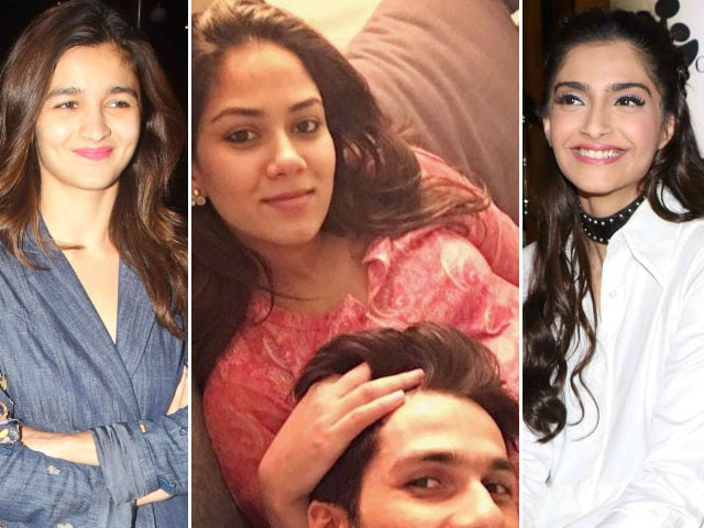 Congratulations Shahid-Mira, Tweet Alia Bhatt, Sonam Kapoor