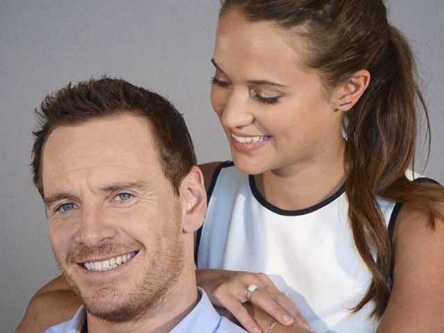 What Alicia Vikander Said About Her Relationship With Michael Fassbender