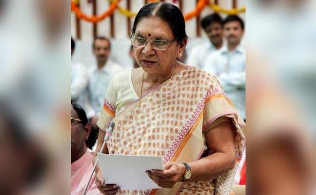 Ex-Gujarat Chief Minister Anandiben Patel To Take Oath As Madhya Pradesh Governor Tomorrow