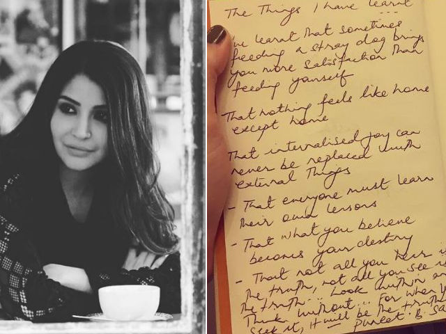Anushka Sharma Got the Nicest Note From Ae Dil Hai Mushkil Crew