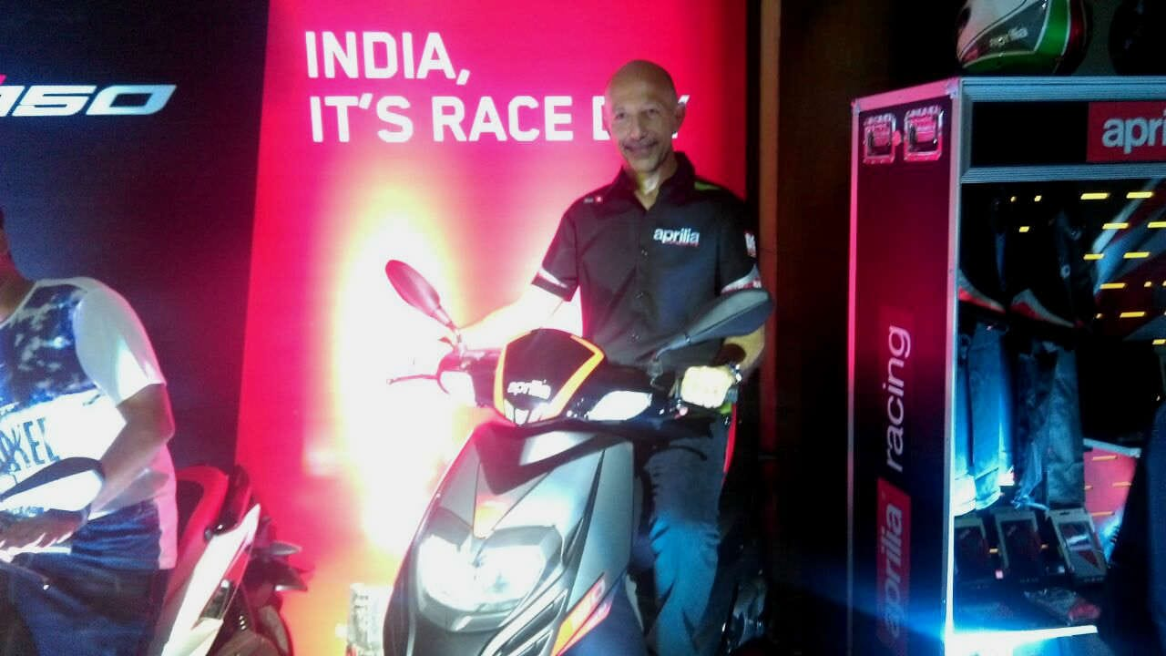 Aprilia SR 150 Launched In India; Priced At &#8377 65,000
