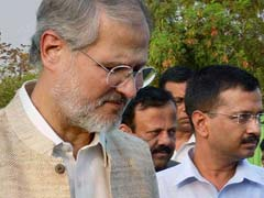 Lieutenant Governor Najeeb Jung Seeks Details Of Foreign Tours Of AAP Ministers