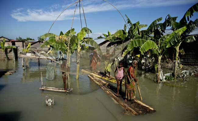 Assam Floods: Over One Lakh People Affected In Eight Districts, Five Rivers Above Danger Level