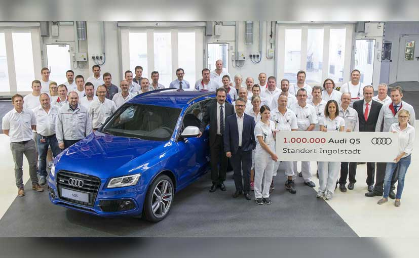 One-Millionth Audi Q5 Drives Off Production Line In Ingolstadt