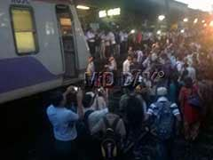 Thane: Fed Up Of Daily Delays, People Stage Rail Roko At Badlapur Station