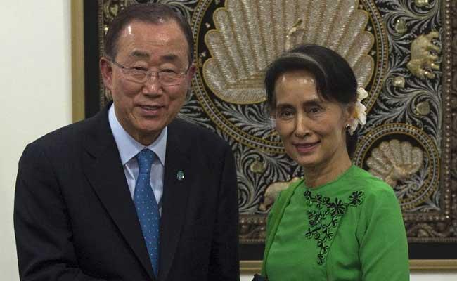 World Concerned About Rohingyas, Ban Ki-Moon Tells Myanmar
