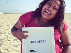 अमेरिका : भारतीय मूल की इस महिला ने नौकरी मिलने पर जो जश्न मनाया उसके चर्चे हैं