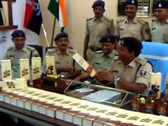 बिहार में बड़ी मात्रा में शराब बरामद, 2 तस्कर गिरफ्तार