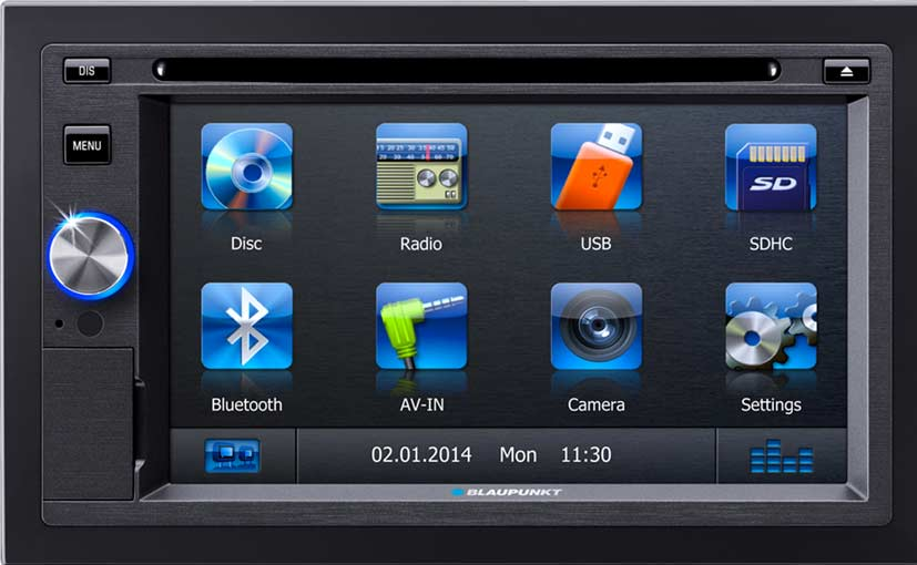 Car stereo with bluetooth gps and touchscreen in india 5