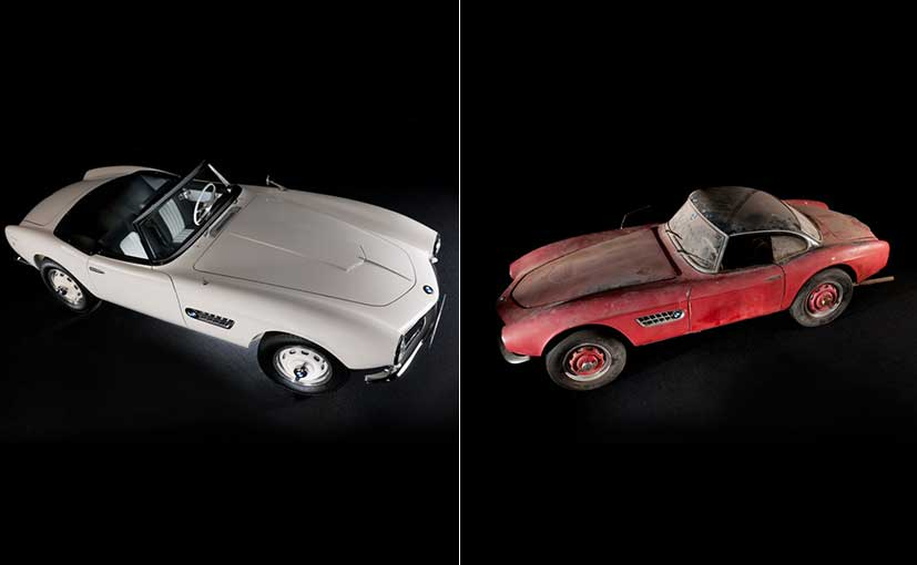 Elvis Presley's BMW 507 Completely Restored; Will Be Showcased At Pebble Beach Concours