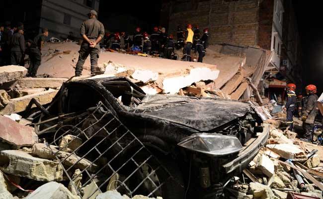 Building Collapses In Casablanca, 2 Dead, 24 Injured